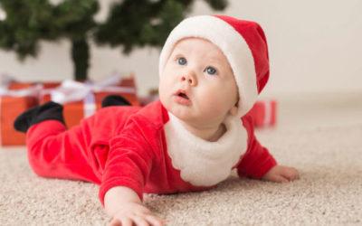 9 sennych wskazówek na Święta z niemowlakiem